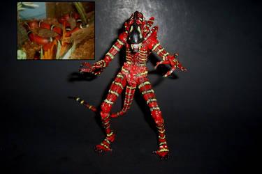 Ezekiel Tribute Xeno - 7-Inch Scale Custom Figure by Drakhand006