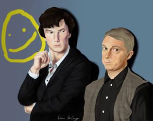 Let's Draw Sherlock by dedicatedfollower467