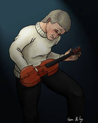 Violins and Grief by dedicatedfollower467