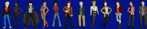 Gender Bender Doctor Who by dedicatedfollower467