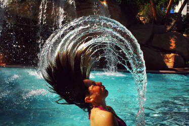 Hair and Water by shaina74