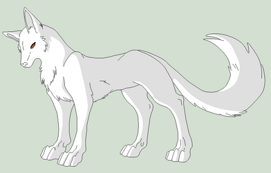 Original Base - Fox Critter Lineart by Shadow-Bases