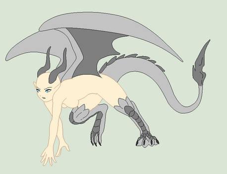 Base Fix - Half Dragon Girl by Shadow-Bases