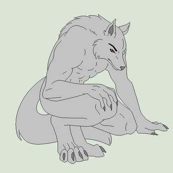 Base Fix - Crouching Werewolf by Shadow-Bases