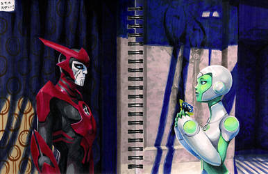 'Loss' in Copics by rosiesinner