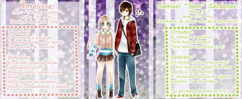 Amelisse y Sam by Azallie