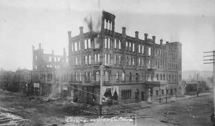 Stewart Hotel Burns by palapala12
