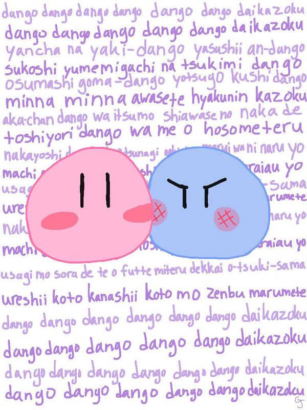 Dango Daikazoku Wallpaper By 8kuroyuki8 On Deviantart