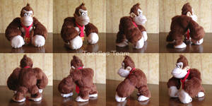 Spyrofoam Donkey Kong by ToodlesTeam