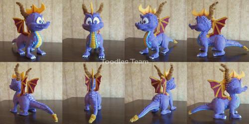 Spyrofoam Spyro the Dragon Version 2 by ToodlesTeam