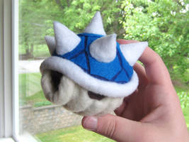 Spyrofoam Blue Spiny Shell by ToodlesTeam