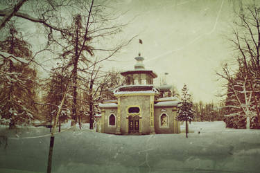 Chinese Gazebo by caie143
