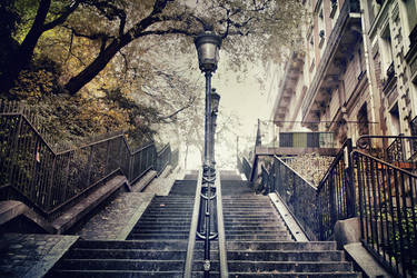 The Way To Sacre-Coeur by caie143