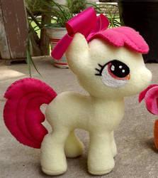 Handmade My Little Pony Inspired Apple Bloom by Slipsntime