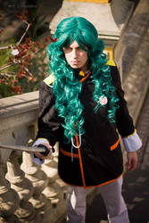 Saionji is not amused by carloshorment