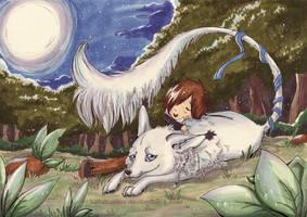 Mara and Michi by Lulusama