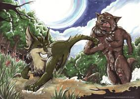 :commission:Klaid and Hollis by Lulusama