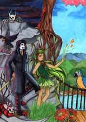 Life and Death by MomokoShinzoArts