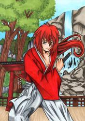 Rurouni Kenshin by MomokoShinzoArts