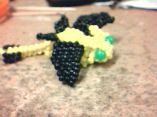 Beaded dragon by Popgal120