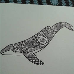 Henna Whale by Popgal120