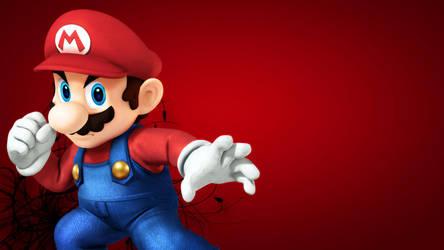 Super Smash Brother U Mario Wallpaper by Nolan989890
