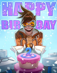 Happy Birthday Overwatch by capprotti