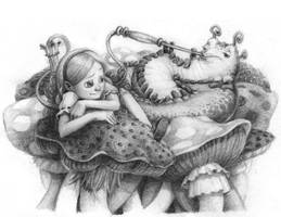 Alice and the Caterpillar by Nemodemos