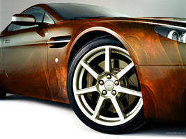 Aston Martin V8 Vantage by injust92