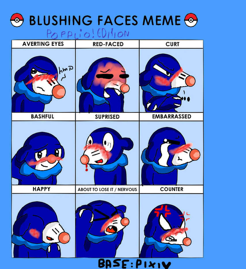 Blushing Face Meme Base Hetalia Wwwtopsimagescom