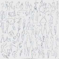 Gesture Practice 2 by SivarkArt