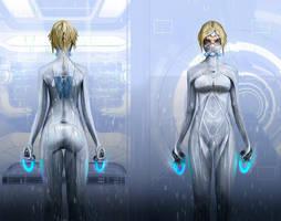 Genetika biomesh suit by Sprigaan