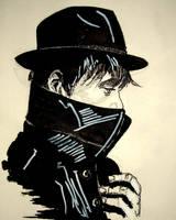 Pete Doherty inda black INK by NoArtJustNad