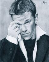 Matt Damon by MiisS-M