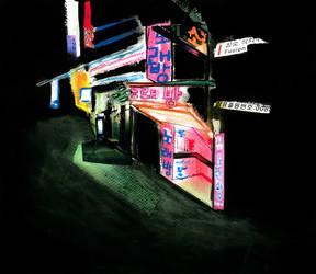 Imaginary city (1/6) by Cosmo-la-taree