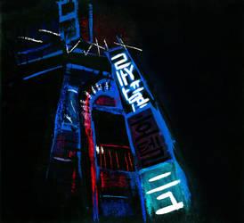 Imaginary city (2/6) by Cosmo-la-taree