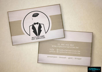 Businnes Card (Butler And VIP-Services) by ShatteredGraphicss
