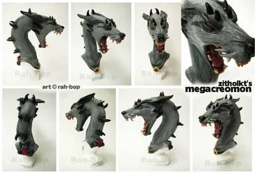 Megacreomon bust by rah-bop