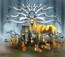 Deer God by rah-bop