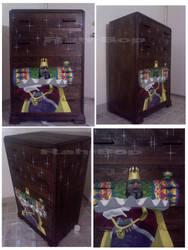 Katamari Dresser by rah-bop