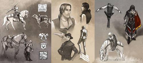 AC2 sketches 1 by rah-bop