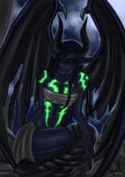 Demon hunter Metamorphis by Ninnydoodles