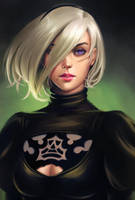 Nier - 2b or not 2b by Justb1aze