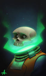 Dead Spaceman by griffinator