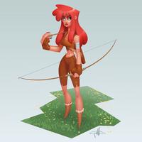 Archer by griffinator
