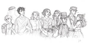 Miss Peregrine's Home for Peculiar Children by drakonarinka