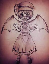 Remilia scarlet by Syu85