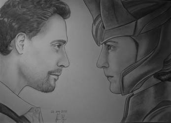 Tom vs Loki by xGuppy