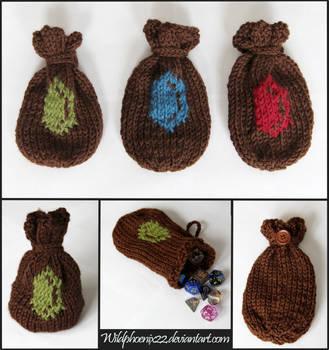 Rupee Dice Bags by Wildphoenix22