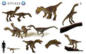 Spore Dinosaurs: Effigia by edmundpjc